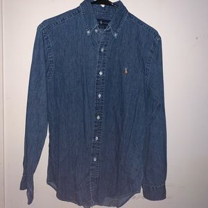 Polo by Ralph Lauren Denimstyle Casual Dress Shirt